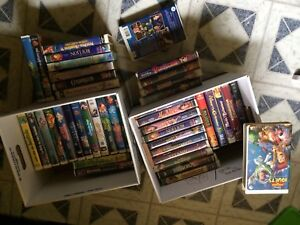 Cassette vhs collection disney
