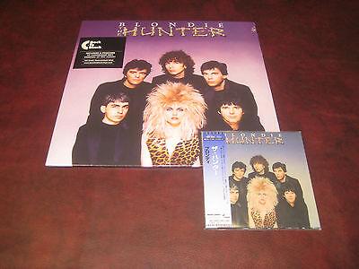 Blondie Hunter Japan Replica Exact Original Lp In Obi Cd   180 Gram Vinyl Lp Set