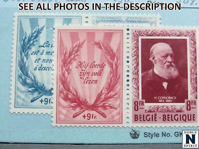 NobleSpirit No Reserve TH2 Valuable BELGIUM No. B521-B522 MH/NH Set 320 CV - $1.04