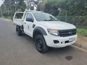2012 FORD RANGER XL HI-RIDER Single Cab Tray Ute AUTO Hoppers Crossing Wyndham Area Preview