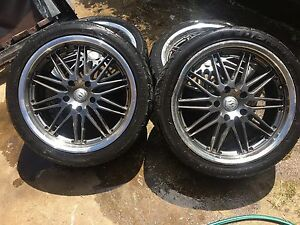 18's must sell today best offer gets them 5x120 needs 1 tyre Kambah Tuggeranong Preview
