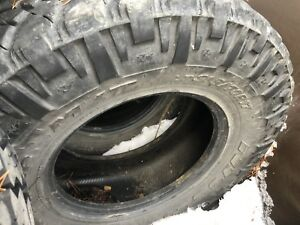 Used Nitto trail grapplers