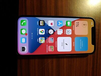 Apple iPhone 12 - 256GB - Blue (AT&T) Open Box