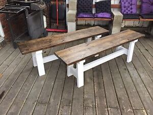 Farmhouse style Rustic bench