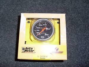 Auto Meter Oil Temperature Guage Echuca Campaspe Area Preview