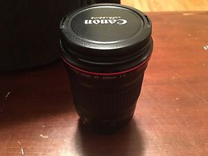 Canon EF 135mm f2.0 lens, excellent condition