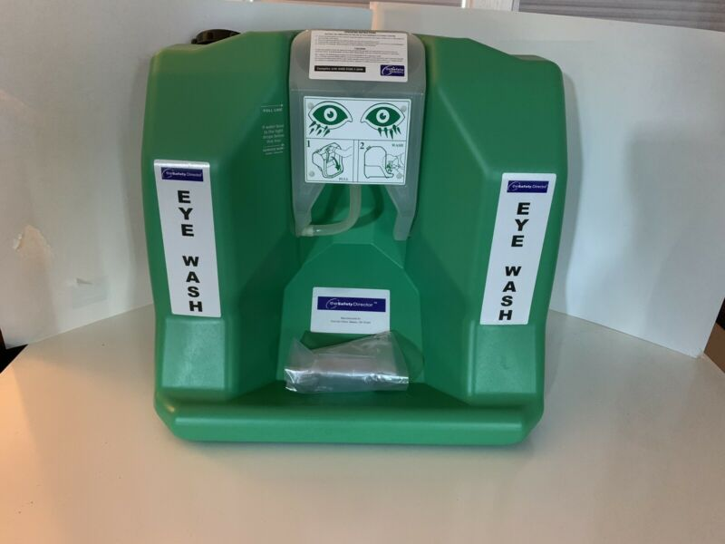 The Safety Director 133440 16 gal. Eye Wash Station New in original box