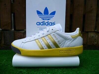VINTAGE ADIDAS FOREST HILLS 80s casuals TENNIS  2017 UK8.5 BNIB OG COLOURWAY