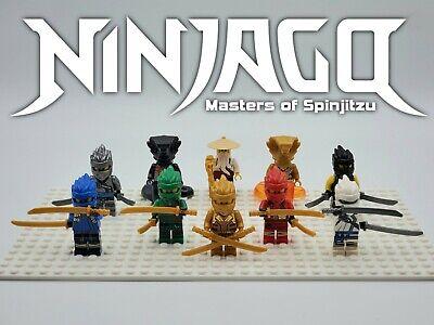 NEW Ninjago Season 11 - 10 Minifigures Set Custom Set For Lego - USA SELLER
