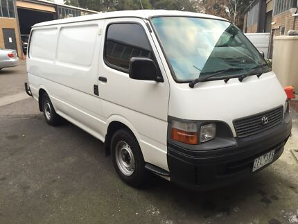 2001 Toyota Hiace RWC ** 1 owner Collingwood Yarra Area Preview