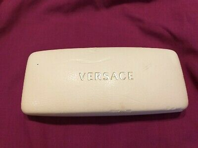 VINTAGE  CREAM VERSACE GLASSES  MADE IN ITALY CASE