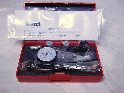 Spi Dial Test Indicator Set 0.5mm Max Range 0.01mm Graduation 14-667-0