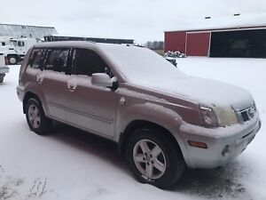2005 Nissan X-Trail 4WD Manual