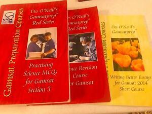 Des O Neil books Plus GradReady subscription (valued over $1000)