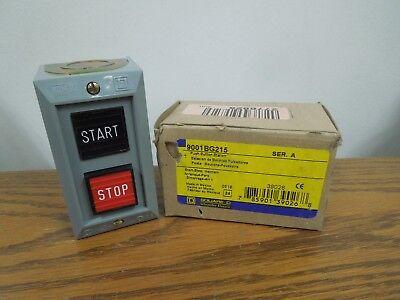 Square D 9001bg215 Startstop Maintain Push Button Station Nema 1 New Surplus