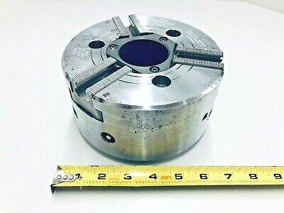 Kitagawa Chuck Bb-206 6 Hydraulic 3 Jaw Big Bore 4 Cnc Lathe A2-5 Mount Power