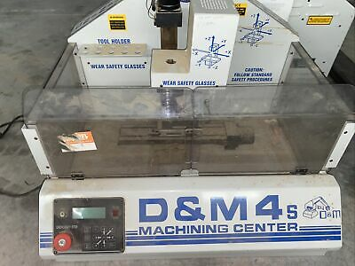 Dm4s Sherline Cnc Mill W Enclosure. 90vdc Spindle Can Shipdeliver