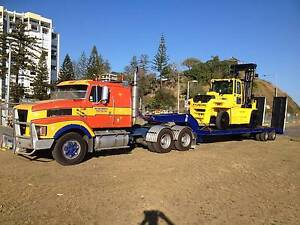 Low loader float primover Bundall Gold Coast City Preview