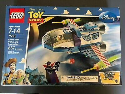NEW Sealed Box! LEGO 7593 Toy Story Buzz's Star Command Spaceship Zurg