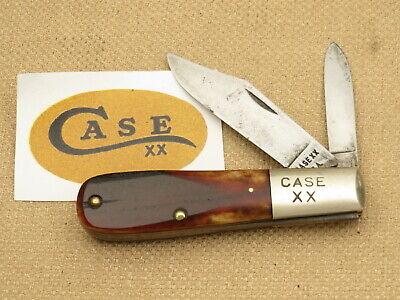Vintage Case XX USA 1965-1969 62009 ½ Barlow Chestnut Bone Light Use