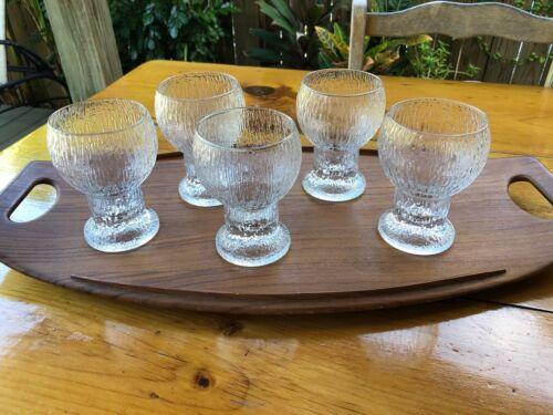 Set of 5 Iittala Kekkerit Red Wine Glasses