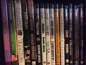 Various blu-rays and dvds