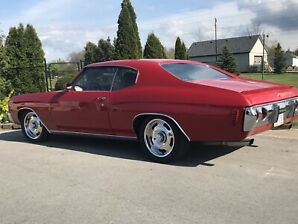 71 chevelle posi, a/c, discs low mile, #'s matching