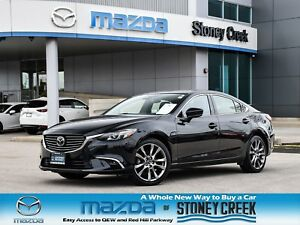 2017 Mazda Mazda6 GT Nav Leather Heated Seats Bose Rear Cam