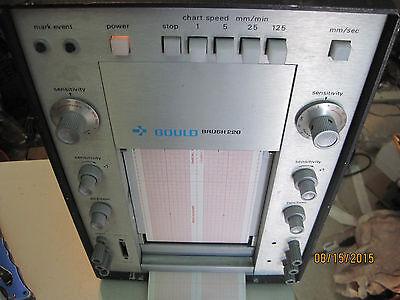 Gould Brush  Model 220 Strip Chart Recorder Lot K501