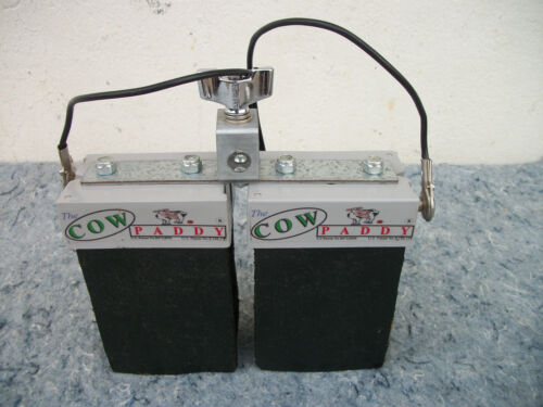 2 Electronic Cow Paddy Drum Bell