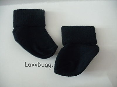 "Lovvbugg Navy Socks for 15"" Bitty to 18"" American Girl Doll Clothes and Preemie"