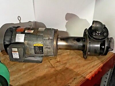 Baldor Industrial 10hp Motor Assembly JMM3711T 208-230/460 Volts 3450rpm Phase 3 (Hp Motor Assembly)