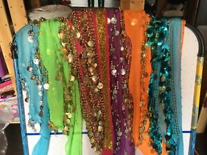 LOT-Belly dancing coin belts