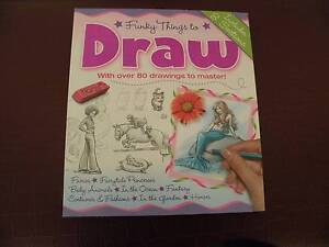 Funky Things To Draw - The Ultimate Drawing Guidebook Bundoora Banyule Area Preview