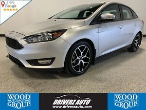 2017 Ford Focus SEL SPORT WITH SUNROOF, HEATED SEATS .