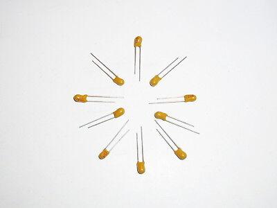 Tantalum Capacitor 1uf 50v Radial 10 Pcs