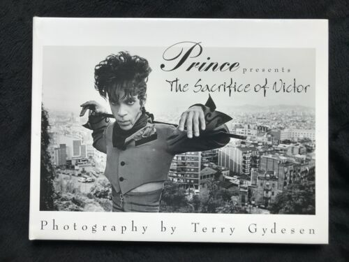 Prince - The Sacrifice of Victor Book by Terry Gydesen - Rare SEALED!! Ends 8/27