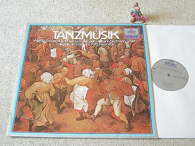 COLLEGIUM TERPSICHORE Tanzmusik PRAETORIUS WIDMANN SCHEIN GER LP ARCHIV 2547 005