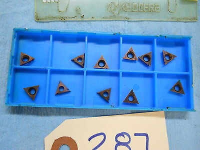 11 New Koocera Ceratip Carbide Inserts Tpgb 1.81.508 90 Degree Mod X 3 287