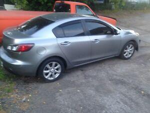 2011 Mazda Mazda3 Sedan. Needs Bumper.rad.tow