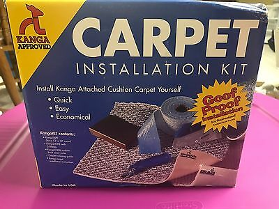 Carpet Installation Kit Kanga Approved Kangakit New In Box