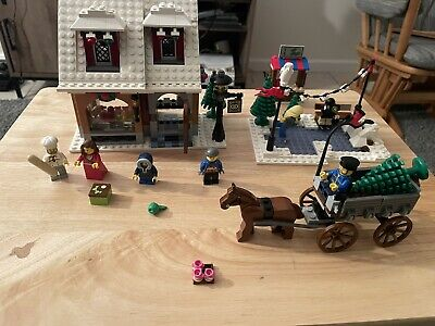 LEGO CHRISTMAS VILLAGE BAKERY 10216 100% COMPLETE W/ Instructions