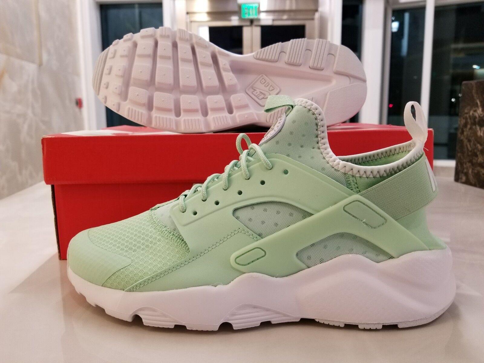 Nike Air Huarache Run Ultra Fresh Mint White Running Shoes M