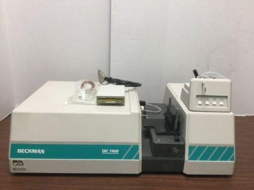 BECKMAN DU 7400 SPECTROPHOTOMETER