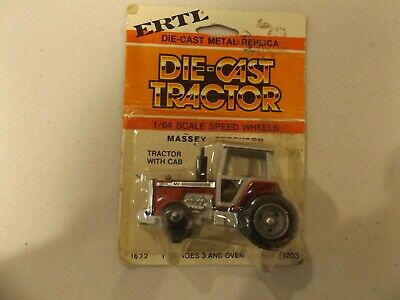 MASSEY-FERGUSON  2800  DIE-CAST  card,  STOCK # 1622