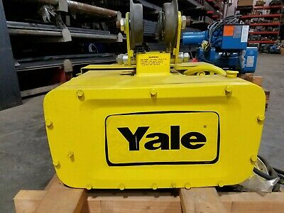 Yale Y80 Series Electric Monorail Electric Wire Rope Hoist Model Y80l01025s28