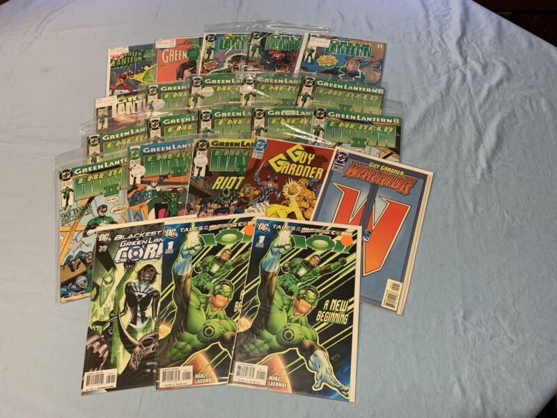 Green Lantern Comics Lot Of 24 1-42 Green Arrow