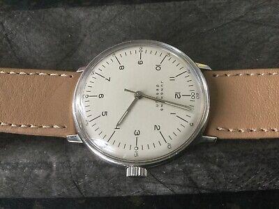 "JUNGHANS ""MAX BILL""Design Wristwatch - Mechanical - width without winder 34mm"