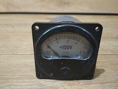 Vintage Analog Voltmeter 1982 Ussr.1.