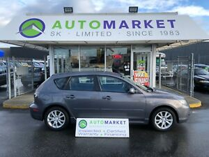 2007 Mazda Mazda3 GT NEW CLUTCH! FINANCE EVERYONE!